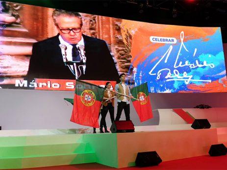 Socialistas rendem homenagem a Mário Soares no XXII Congresso Nacional
