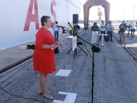 Ferry entre Portimão ao Funchal assegura também princípio da continuidade territorial
