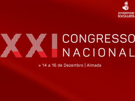 XXI Congresso Nacional da JS arranca hoje em Almada