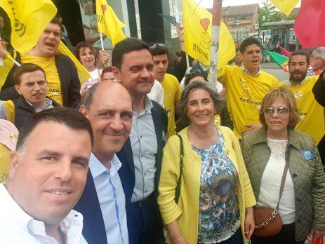Pedro Marques em Gondomar