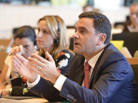 Pedro Marques defende União Bancária com partilha de riscos e garantia de depósitos dos cidadãos