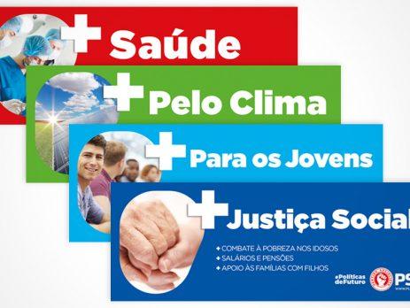Partido Socialista lança campanha 'Políticas de Futuro'
