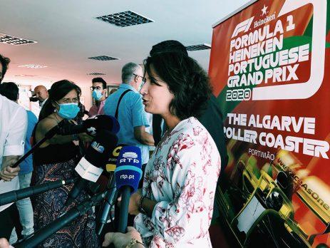 Fórmula 1 em Portugal garante impacto não inferior a 30 ME
