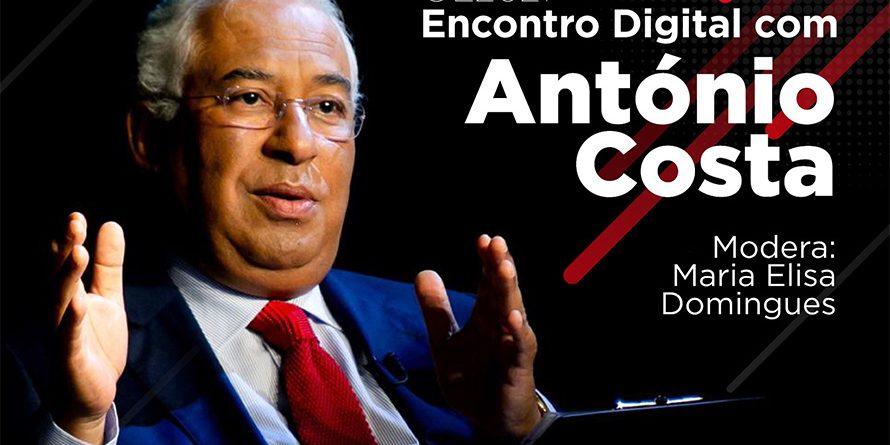 Encontro Digital com António Costa sobre OE2021