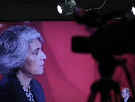 Ministra da Cultura no podcast 'Política com Palavra'