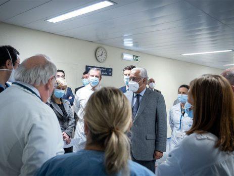 António Costa enaltece profissionais de saúde e reforça apelo ao rigor e disciplina individual