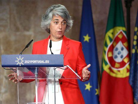 Ministra da Cultura Graça Fonseca, programa Europa Criativa