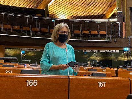 Edite Estrela, Assembleia Parlamentar do Conselho da Europa