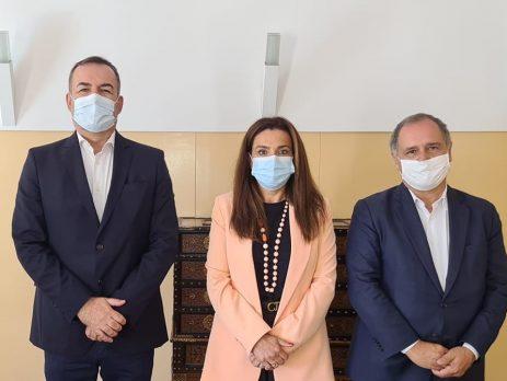 Paulo Porto, Luísa Salgueiro e Paulo Pisco