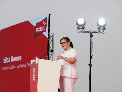 Isilda Gomes,, candidatos autárquicos Algarve