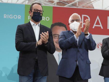 António Costa e Gonçalo Lopes, Leiria