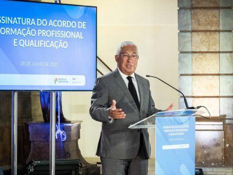 António Costa, acordo de concertação social