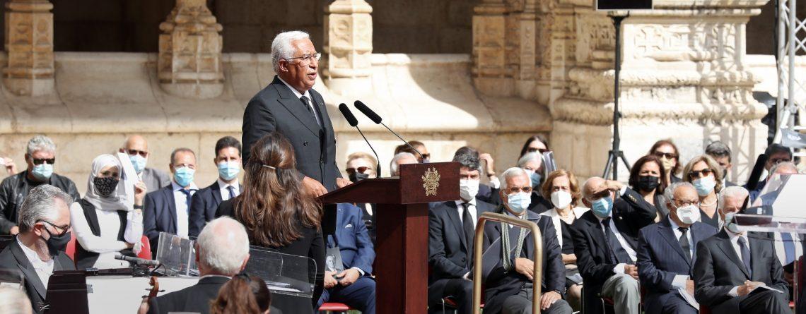 António Costa, cerimónias fúnebres de Jorge Sampaio