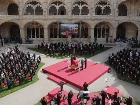 Cerimónias fúnebres de Jorge Sampaio, Mosteiro dos Jerónimos