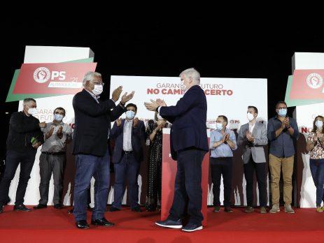 António Costa e Jorge Gomes, Bragança