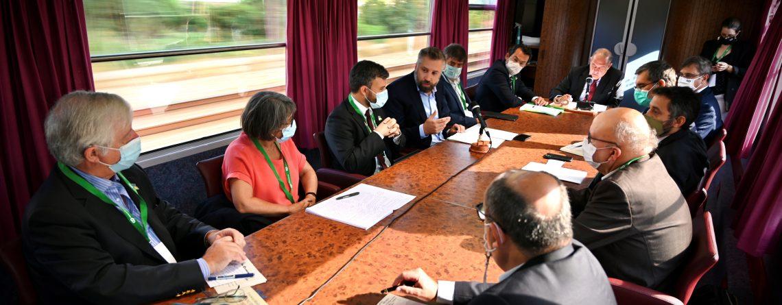 Pedro Nuno Santos, Train Summit Green Deal e Descarbonização