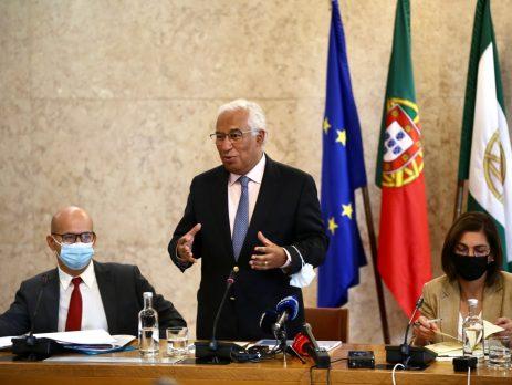 António Costa, reunião do GPPS sobre OE 2022