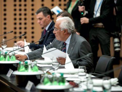 António Costa, cimeira europeia