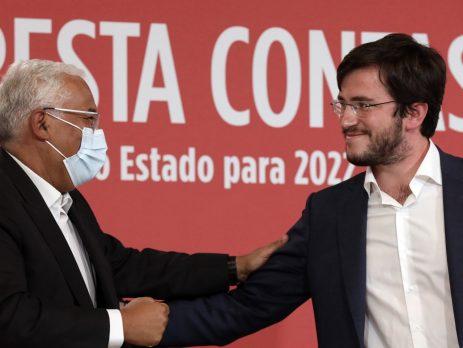António Costa, encontro com JS sobre OE2022