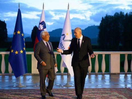 António Costa, cimeira de líderes da UE na Eslovénia
